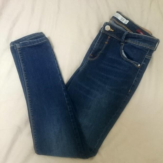 Zara Skinny 牛仔褲 (36)