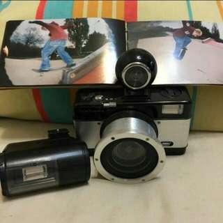 LOMO 魚眼相機 配件如圖