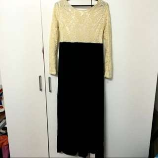 ✨ Lace Maxi Dress