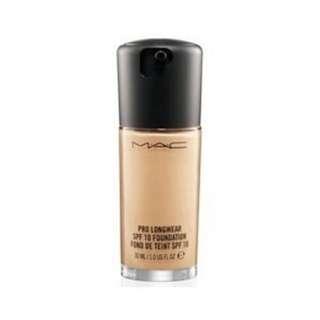 MAC 粉特色粉底液 SPF10 全新 30ML 裸裝商品