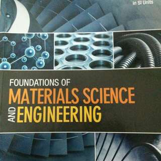 Material Science  Material Engineering