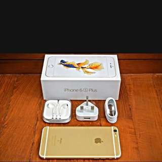 Sold Brand New Iphone 6s Plus Gold 16gb