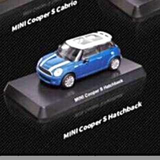 Mini Cooper S 藍白色款 7-11