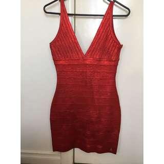 Red Bodycon Dress