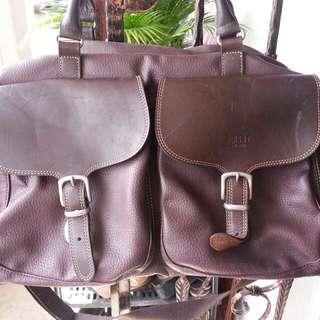 Espirit Leather Luggage Bag