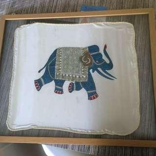 Elephant Painting (fabric)