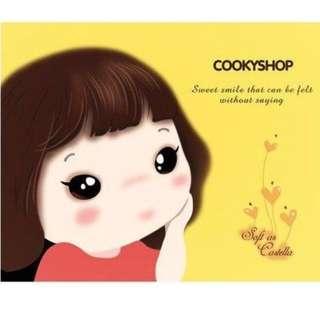 韓國超人氣餅幹女孩滑鼠墊