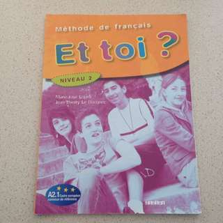 French Textbook Et toi?