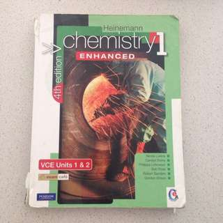 Heinemann Chemistry 1 4th Edition