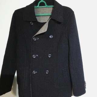 B2 雙面穿羊毛大衣