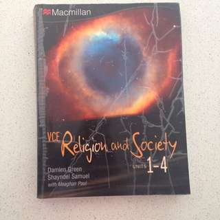 Macmillan VCE Religion and Society units 1-4