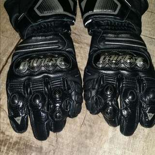 Authentic Dainese Racing Gloves
