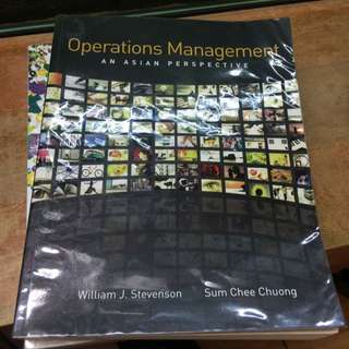 Operations Management. An Asian Perspective