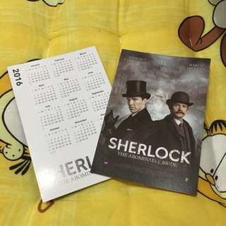 Sherlock年曆卡