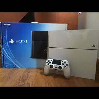 Playstation 4 500GB White