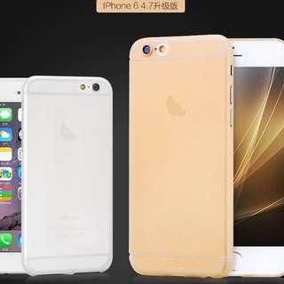 IPhone 6/6s 4.7 手機殼 透明 白色 灰色 綠色 金色
