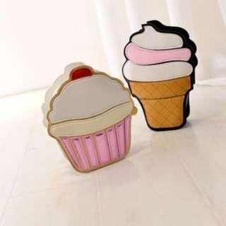 卡挖以冰淇淋造型小包