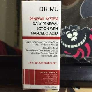 Dr.wu杏仁酸亮白煥膚乳液15ml