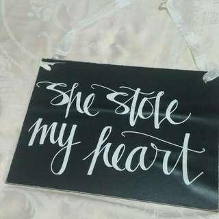 Preloved Wedding Signage