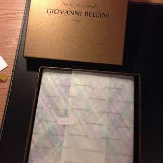 義大利GIOVANNI BELLINI全新絲巾
