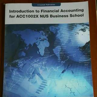 ACC1002X Financial Accounting Textbook (Pending)