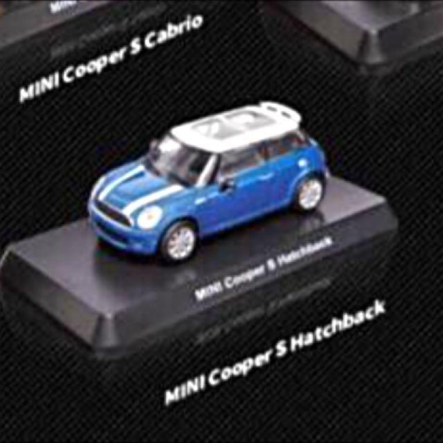7-11 Mini Cooper S 藍白款