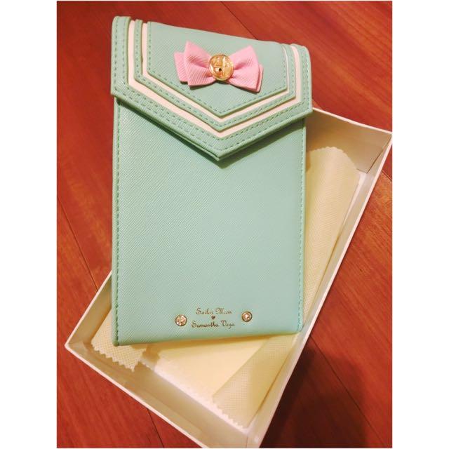 👏🏻👏🏻👏🏻湖水綠美少女戰士手機包❤️