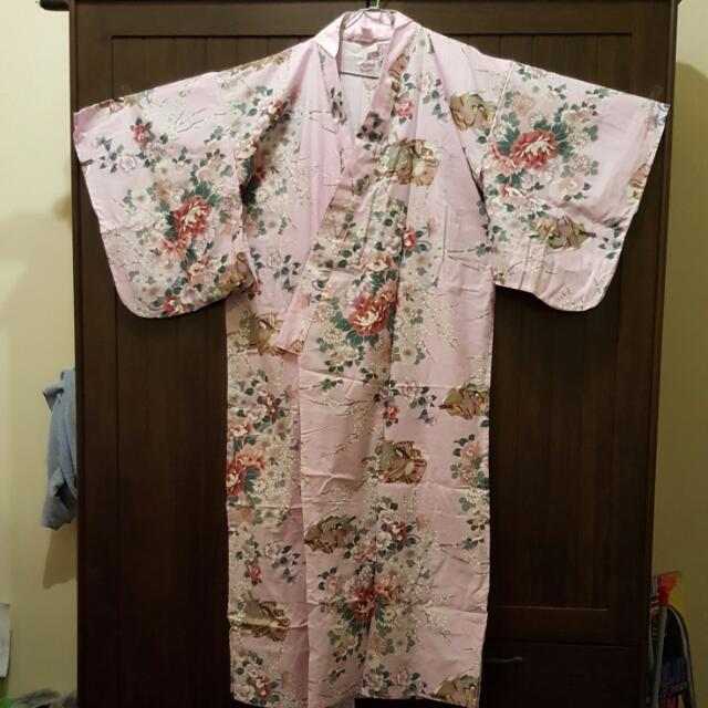 ※日本帶回※ 粉紫色和服(浴衣)