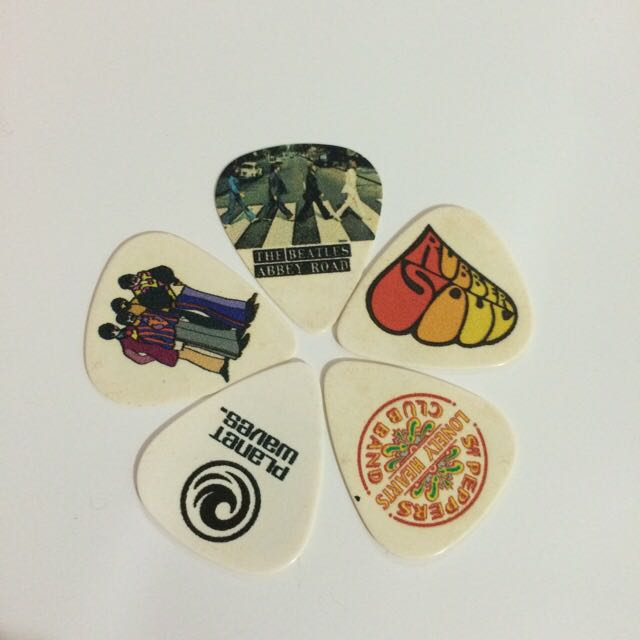 披頭四 彈片 The Beatles pick