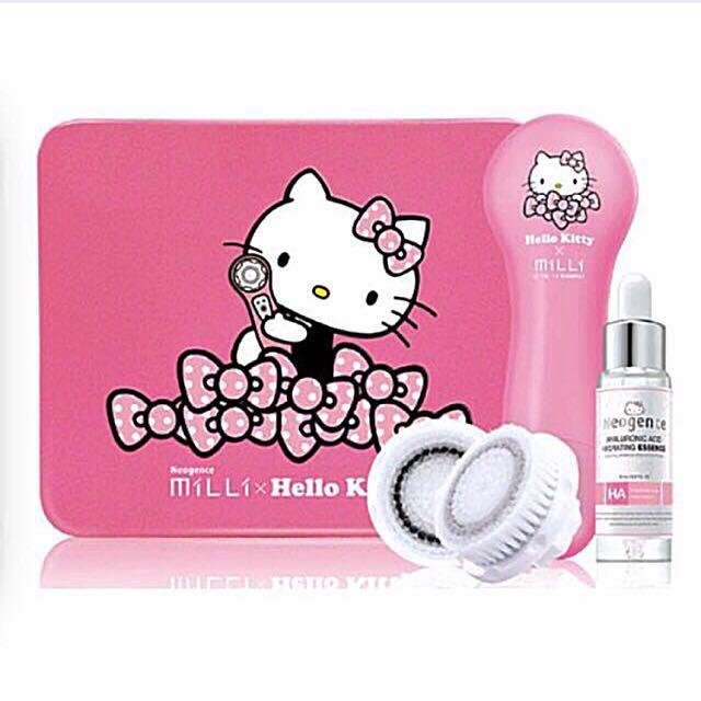 限量珍藏!霓淨思 Hello kitty限定版音波淨化潔膚儀 三麗鷗/禮品/禮物/音波機/洗臉機