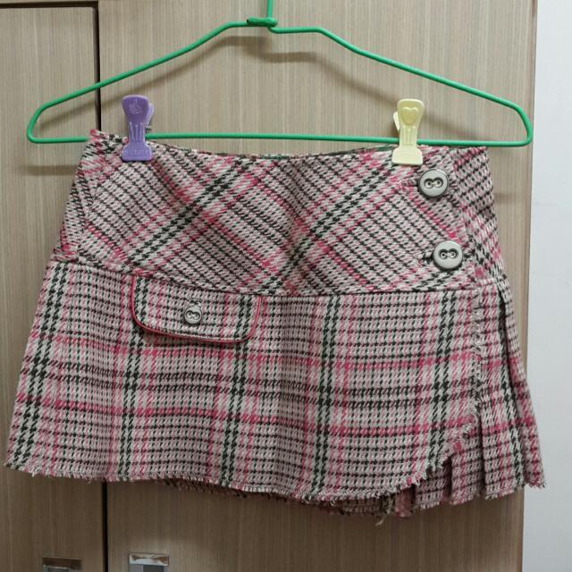 正A&F短裙