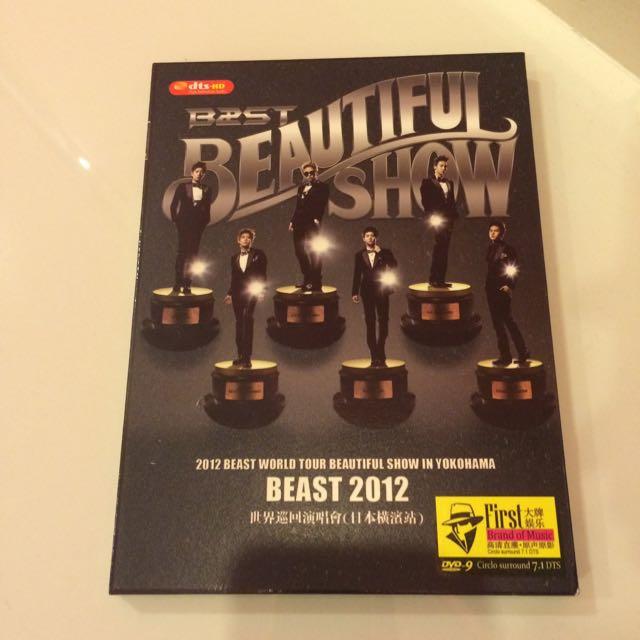 B2ST BEAUTIFUL SHOW CONCERT DVD