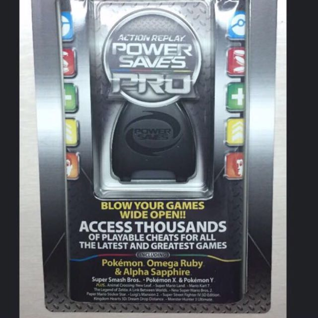 Brand New Powersaves Pro Action Replay For 3DS Games