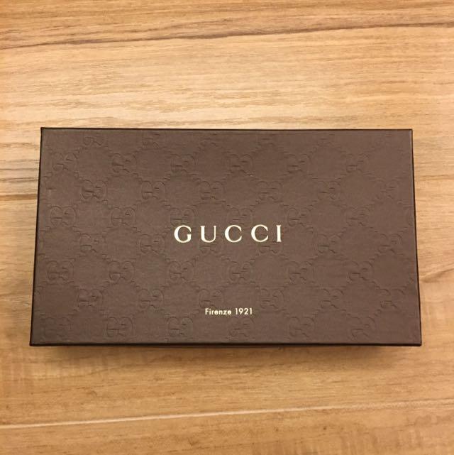 Gucci硬紙盒 含運