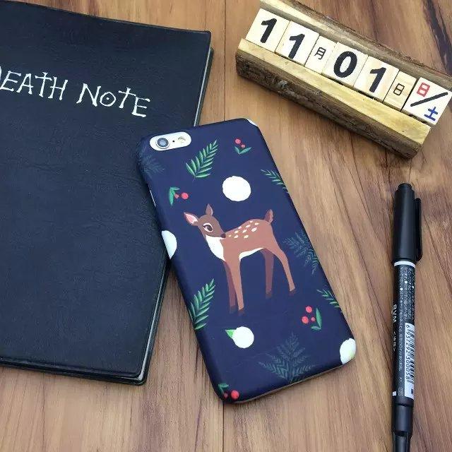 iphone 日韓 森林系 可愛小鹿 手機殼