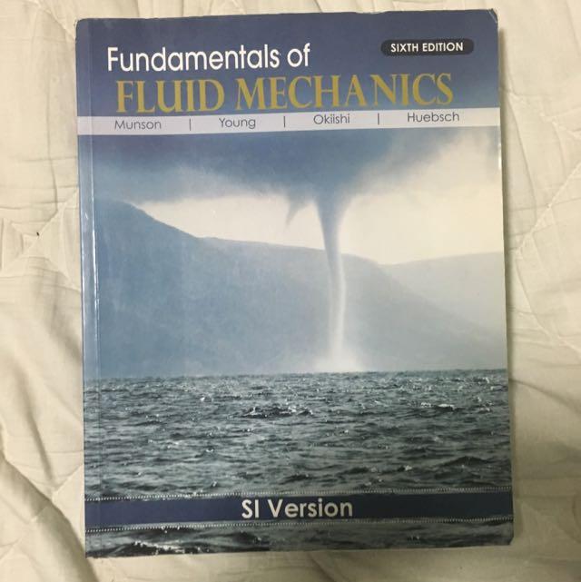 MA3006 Fluid Mechanics & MA4002 Fluid Dynamics Textbook
