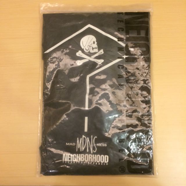 Madness X Neighborhood 短T  Size:L
