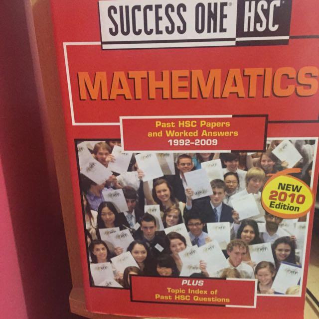 Maths Text Book HSC