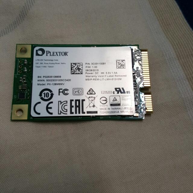 Plextor 浦科特 M6M 128GB m-Sata SSD 固態硬碟