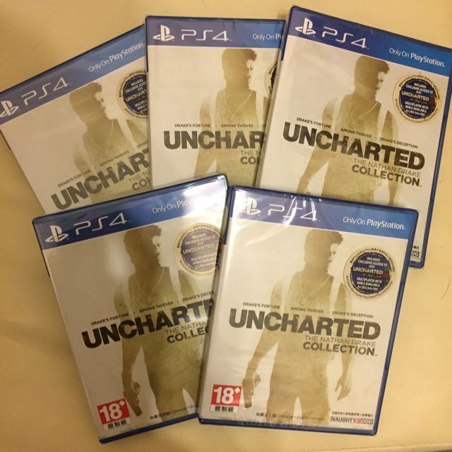 全新PS4遊戲-秘境探險 德瑞克合輯