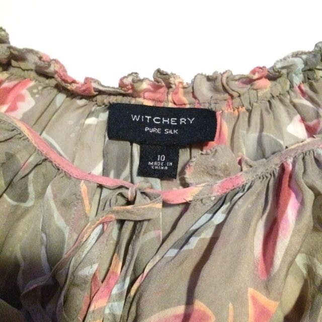 Silk Witchery Top- Size 10