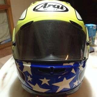 Arai RX-7RR4 (John Kocinski) Free Arai Bowling Bag