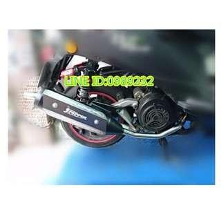 辣椒管 OZ150/ES150專用 對應原廠/全回壓/靜音/下繞