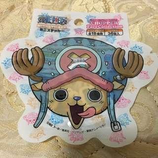 [ONE PIECE] CHOPPER Faces Mini Stickers (36pcs)