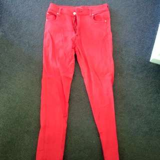 Mink Pink High Waisted Jeans