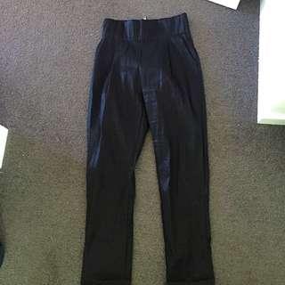 Mossman High Waisted High Shine Pants