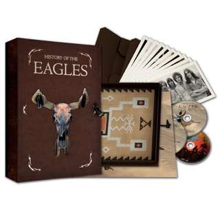 EAGLES**HISTORY OF THE EAGLES (SUPER DELUXE LTD EDITION)**3 BLU-RAY+BOOK BOX SET