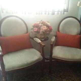 A Pair Of French Elegance Chair