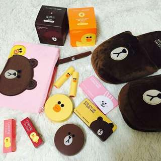 Looking or Missha X Line Friends Collab Collection