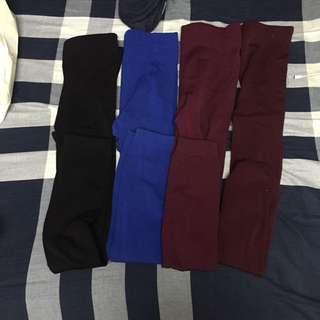 內搭褲一件50三件一起帶120$